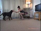 Zoofilia Mulher Madura na Sacanagem Com Cão de Estimação