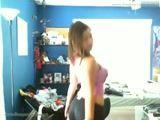 Linda Ruivinha putinha se mostrando na webcam em video Porno amador