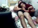 Roberta de São Paulo fazendo sexo com primo neste video de Incesto amador com Novinha