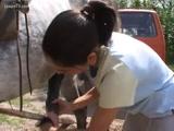 Zoofilia Novinha de Vacaria caiu na net fazendo sexo com cavalo no pornozinhos.com