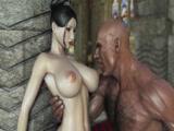 Hentai de Porno em 3D com dezenho porno fantastico