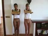 Duas Novinhas Gostosas Brasileiras dançando gostoso no Video Porno Nacional