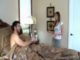 Incesto Novinha acordando o irmão pra foder sua bucetinha molhada de tesão