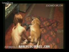 Videos de Zoofilia Gostosa faz sexo com cachorro e cai no flagra amador porno