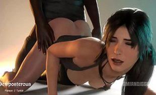 Video pornô 3D com gostosas chupando e levando tora nas bucetas